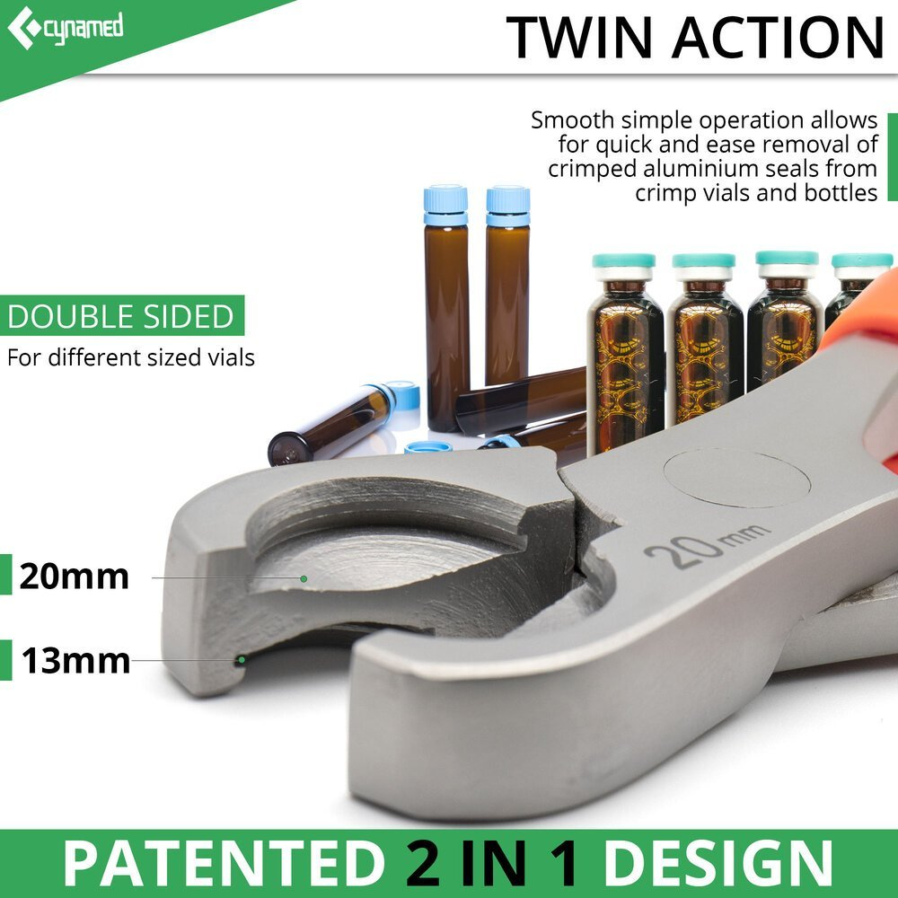 Patented 2 in 1 design plier