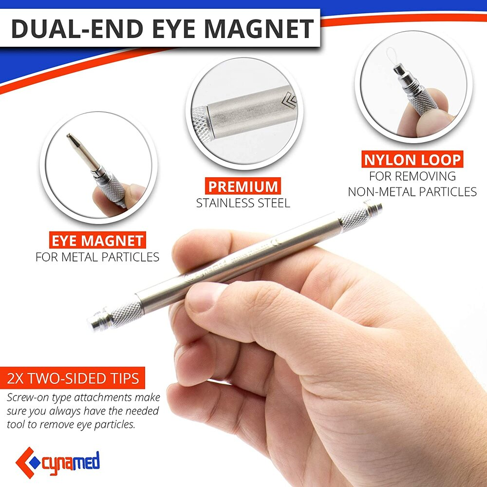 Dual end Eye Magnet