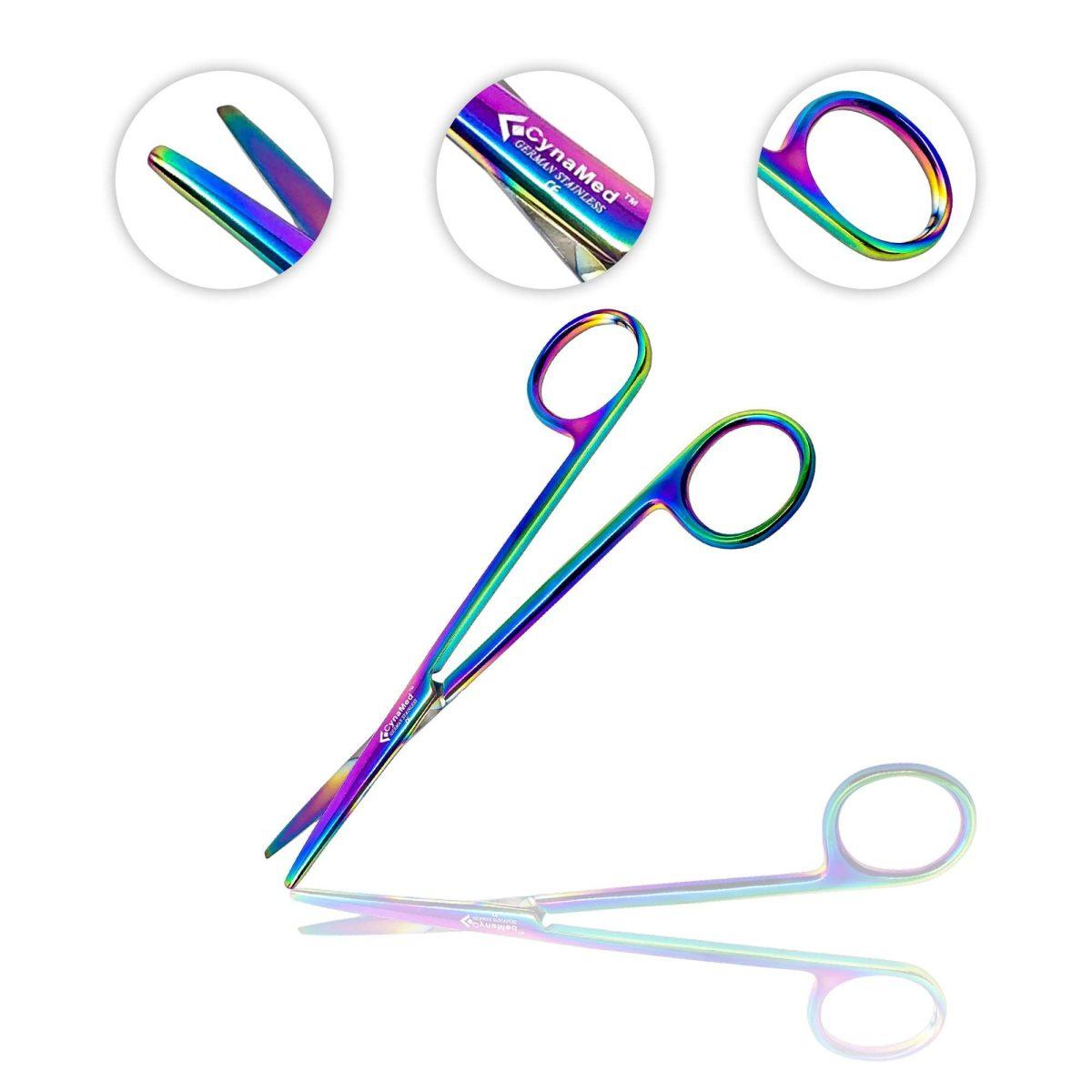 Multicolor Metzenbaum Scissors